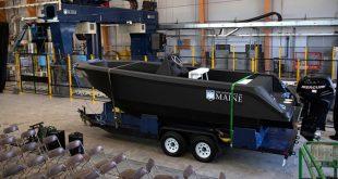 ساخت بزرگترین قایق جهان با پرینتر سه بعدی