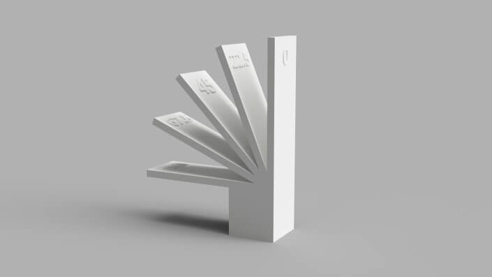 ابزار کمک آموزشی ساخته شده به کمک پرینت سه¬بعدی