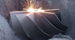 پرینت سه بعدی فلزی بستر پودر - ساخت افزودنی