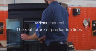 پرینتر سه بعدی Endureal شرکت Zortrax
