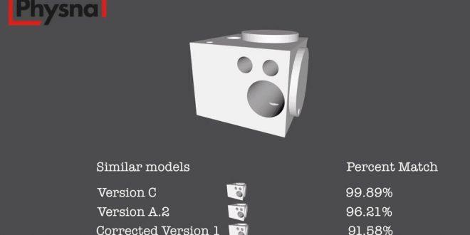 موتور چستچوی مدل های سه بعدی Physna