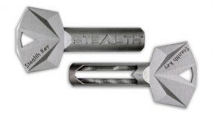 کلید مخفی Stealth Key ساخته شده با پرینت سه بعدی فلزی